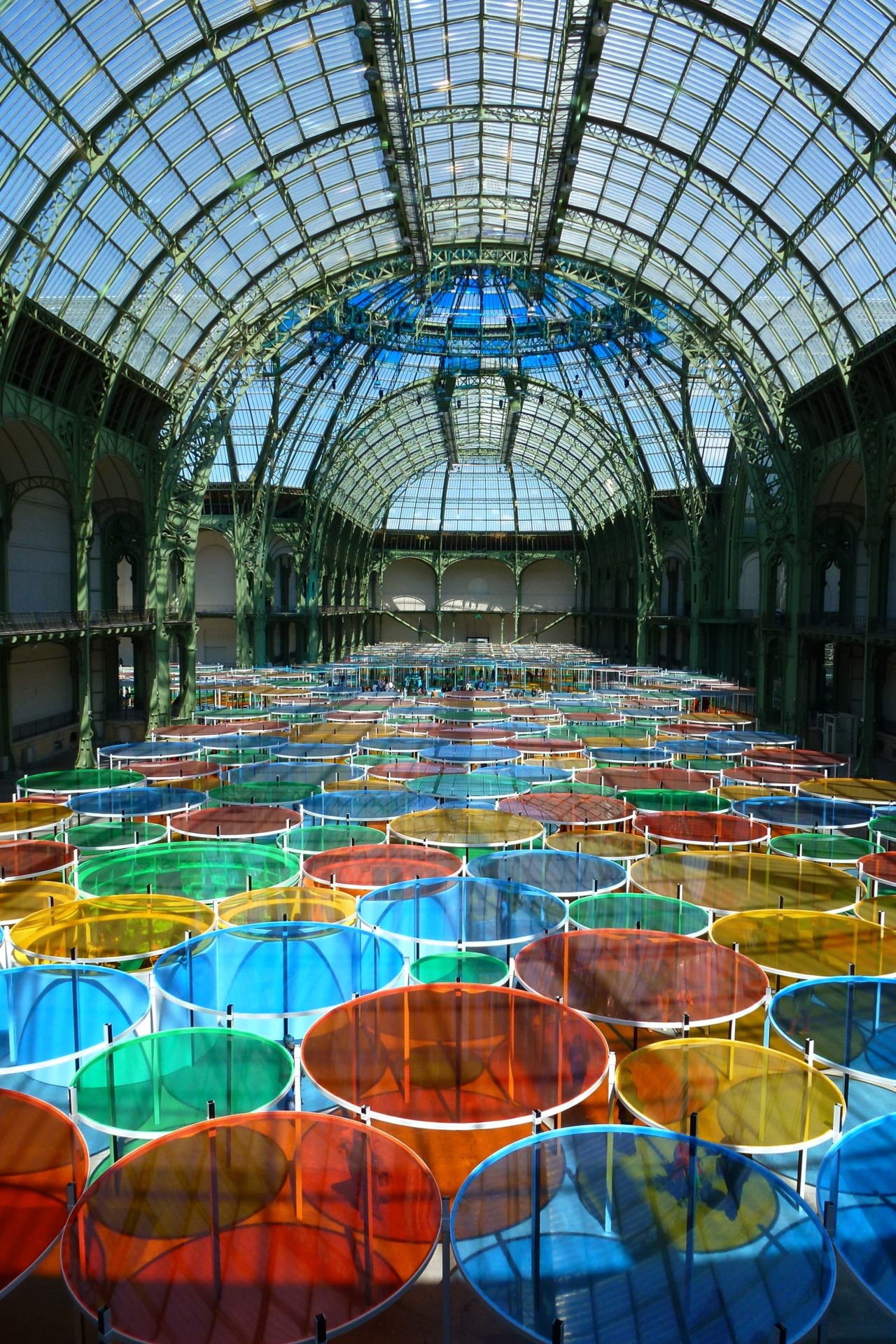 @ Photo-souvenir: Excentrique(s), travail in situ, Monumenta 2012, Grand Palais, Paris, 2012. Détail. © DB-ADAGP Paris.